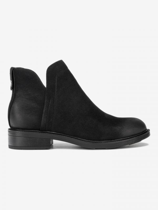 Vanys Kotníková obuv Wrangler Černá