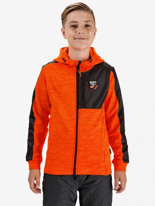 Austin Mikina dětská Sam 73 Oranžová