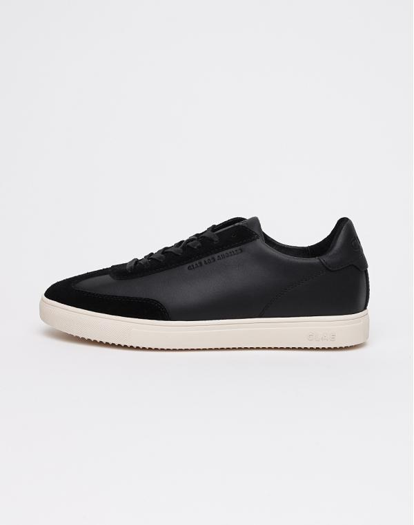 Clae Deane BLACK WATER REPELLENT LEATHER 42