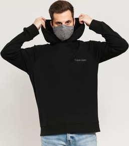 Calvin Klein LS Hoodie C/O černá