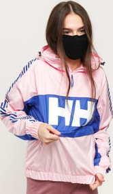Helly Hansen W Vector Packable Wind Anorak světle růžová / modrá