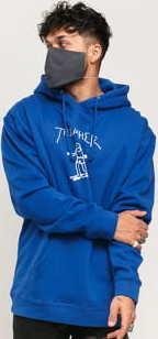 Thrasher Gonz Hood tmavě modrá