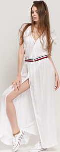 Tommy Hilfiger Wrap Dress bílé