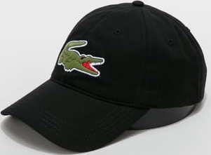 LACOSTE Large Logo Cap černá