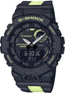 "Casio G-Shock GBA 800LU-1A1ER ""Phosphorescent"" černá / fosforová"