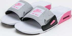 Nike Air Max 90 Slide white / smoke grey - rose