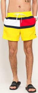 Tommy Hilfiger Medium Drawstring žluté / červené / bílé / navy