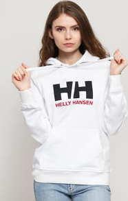 Helly Hansen W HH Logo Hoodie bílá