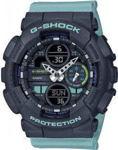 Casio G-Shock GMA S140-2AER černé / světle modré