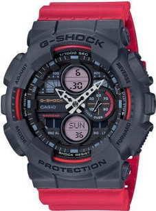 Casio G-Shock GA 140-4AER černé / červené