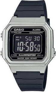 Casio W 217HM-7BVEF černé / stříbrné