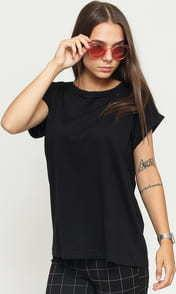 Urban Classics Ladies Organic Extended Shoulder Tee černé