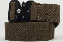 Urban Classics Wing Buckle Belt olivový L-XL