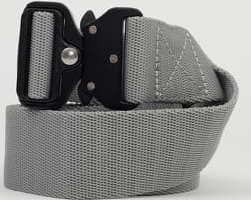 Urban Classics Wing Buckle Belt šedý L-XL