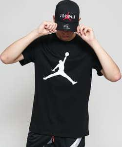 Jordan M J Jumpman SS Crew černé