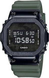 Casio G-Shock GM 5600B-3ER olivové / černé