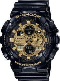 Casio G-Shock GA 140GB-1A1ER černé / zlaté