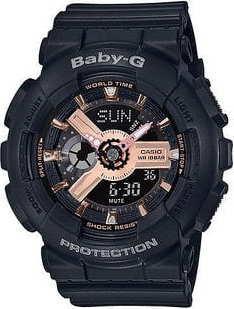 Casio Baby-G BA 110RG-1AER černé