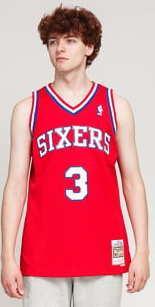 Mitchell & Ness NBA Swingman Jersey 76ers - Allen Iverson #3 červený