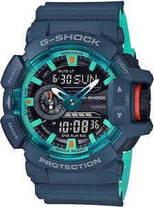 Casio G-Shock GA 400CC-2AER petrolejové