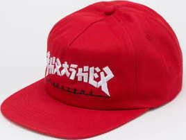 Thrasher Godzilla Snapback červená