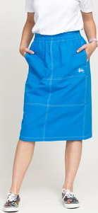 Stüssy Minimal Cargo Skirt modrá