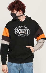 Converse X Rokit Pullover Hoodie černá