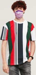 Urban Classics Heavy Oversized Big AOP Stripe Tee