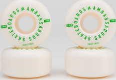 Ambassadors Wheels 103A bílé / zelené 52mm