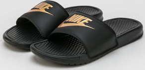 Nike Benassi JDI black / metallic gold