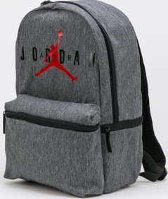 Jordan Jumpman Logo Backpack melange tmavě šedý