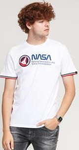 Alpha Industries NASA Retro Tee bílé