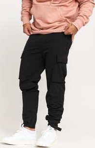 Urban Classics Commuter Pants černé 30