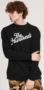 The Hundreds Forever Slant Logo Crewneck černá