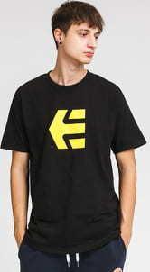 etnies Icon Tee černé