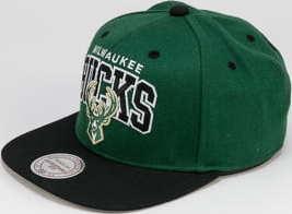Mitchell & Ness Team Arch Snapback Milwaukee Bucks