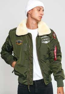 Alpha Industries Injector III Air Force tmavě olivová
