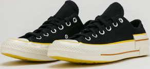 Converse Chuck 70 OX black / speed yellow / egret
