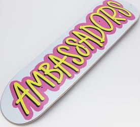 Ambassadors Fresh Pink 2020 Medium Concave 7.75