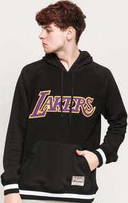 Mitchell & Ness Gametime Pullover Sweatshirt LA Lakers černá