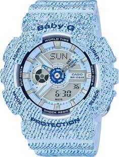 Casio Baby-G BA 110DC-2A3ER světle modrá denim