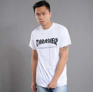 Thrasher Skate Mag bílé