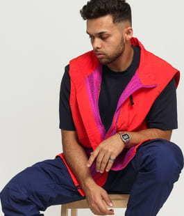 Nike M NRG ACG Vest oranžová / fialová
