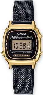 Casio LA 670WEMB-1EF černé / zlaté