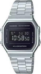 Casio A 168WEM-1EF stříbrné / černé