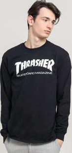 Thrasher Skate Mag LS Tee černé