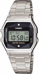 Casio A 158WEAD-1EF stříbrné