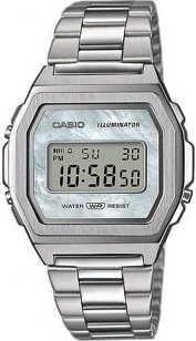 "Casio A1000D-7EF ""Vintage Premium"" stříbrné"