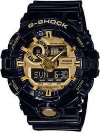 Casio G-Shock GA 710GB-1AER černé / zlaté