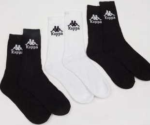 Kappa Authentic Ailel 3Pack černé / bílé